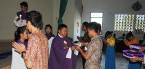 SMA ASSISI Gelar Perpisahan Dengan Acara Misa Syukur